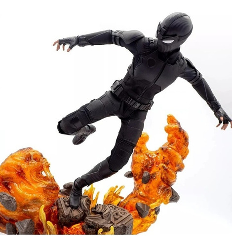 Hot Toys Spiderman Far From Home Stealth Suit Deluxe Fpx