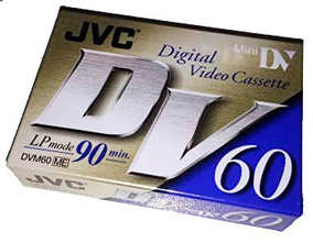 Mini Fita Jvc 60min Lp 90min Original