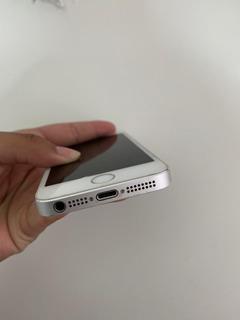 iPhone 5s 16gb,prata Um.detalhe Na Tela,tem Jita Fiscal.