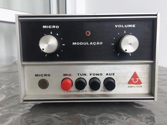 Pré Amplificador Amplivox Ñ Gradiente, Ñ Cynus (ñ Funciona)