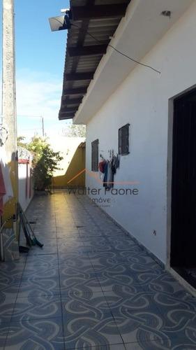 Imagem 1 de 14 de Casa A Venda No Bairro Cibratel Ll Em Itanhaém - Sp.  - Wcd370-1