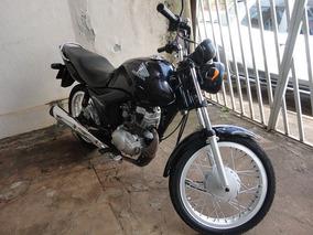 Honda Cg 125 Fan Es Ano/modelo 11/11 Cor Roxa Combustível Ga