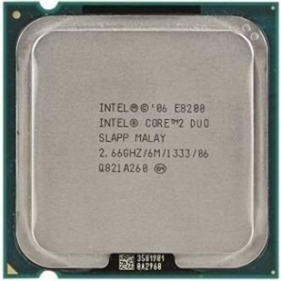 Processador Intel Core 2 Duo E8200 Lga 775 6m 2,66ghz