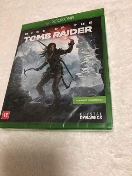 Rise Of The Tomb Raider - Totalmente Em Português - Lacrado
