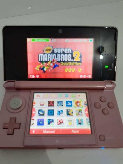 Nintendo 3ds Com Jogos + Emuladores Frete Grátis