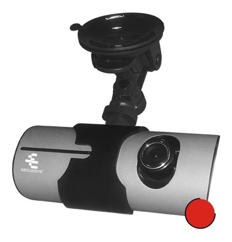 Imagen 1 de 9 de Dvr Grabador Vehiculo Auto Gps Sensor G Pantalla 2 Camaras
