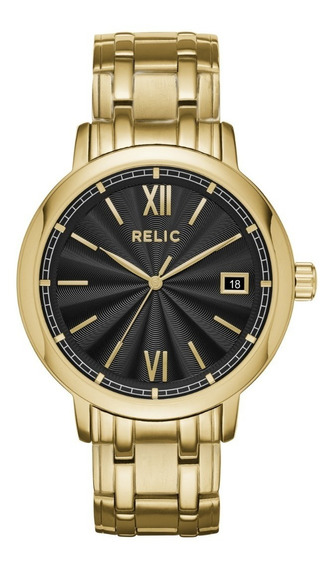 Reloj Caballero Relic Darrin Zr77289 Color Dorado