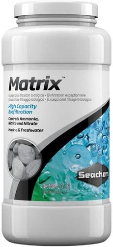 Matrix Seachem Material Bio Filtro Acuario Bacterias 500ml
