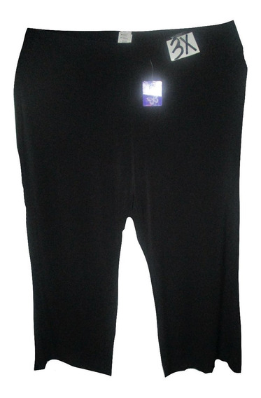Pantalon Negro De Vestir/salir Talla 3x (42/44) Just My Size