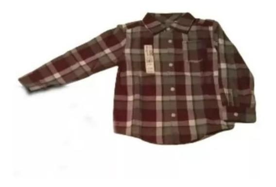 Camisa Manga Larga De Niños Pequeños
