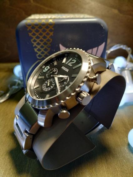 Relógio Fossil (masculino) Gage - Prata - Original