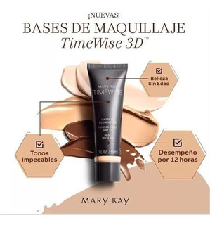 Base Mate 3d Timewise Mary Kay - mL a $1663