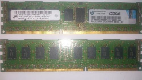 Imagem 1 de 4 de Memória 2gb P/servidor 2rx8 Pc3-10600r-9-10-bo