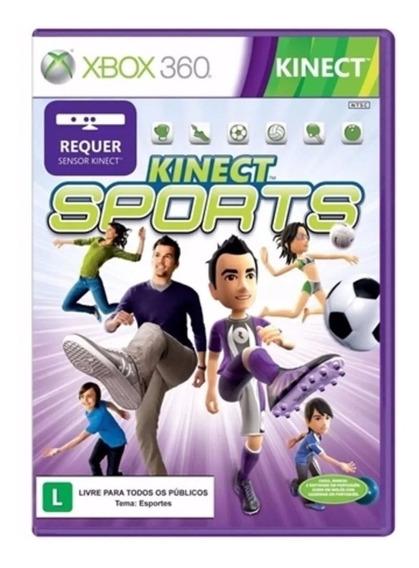 Kinect Sports Xbox 360 - Original Em Português