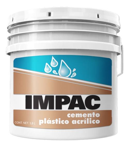 Cemento Plástico Acrílico Blanco 3.8 Lts/ 1 Galón