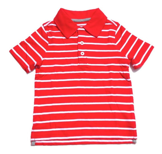Playera Tipo Polo Old Navy Rayada