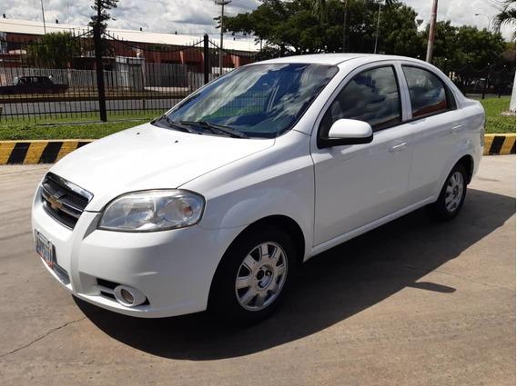 Chevrolet Aveo Lt Automatico 2012