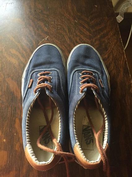 Tênis Marca Vans Azul Jeans/índigo Unissex Tamanho 39