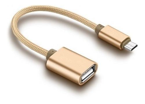 Cable Adaptador Otg Microusb V8 V3.1 Titan Belgrano
