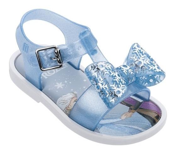 Sandalias Mini Melissa Mar Sandal + Frozen Bebe Disney