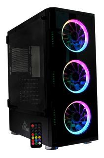 Gabinete Gaming Yeyian Shadow 2200 Negro/rgb (ygs-68808)