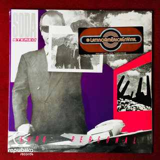 Soda Stereo - Nada Personal - Lp Sellado Nuevo Europeo