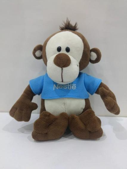 Macaco Filhote Pelúcia Galera Animal Nestle