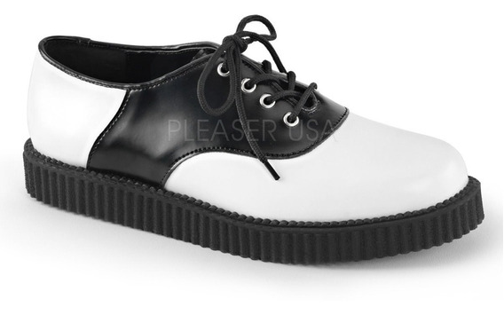 Zapato Dark Alternativo Rock Punk Demonia Unisex Creeper 606