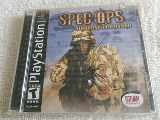 Spec Ops Airborne Ps1 Ps2 Juego Nuevo