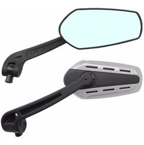 Espelho Retrovisor Esportivo Allen Universal Motos Par
