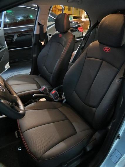 Capas Bancos Couro Carro Hyundai Hb20 Hb20s Hb20x + Brindes