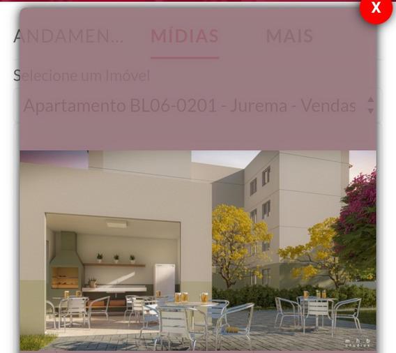 Apartamento Com Área De Lazer Completa, 02 Quartos