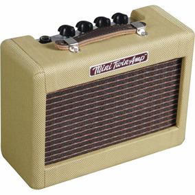 Amplificador Para Guitarra 1w Bege Mini Twin 57 Tweed Fender