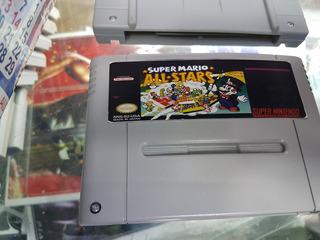 Juego Mario All Stars Super Nintendo