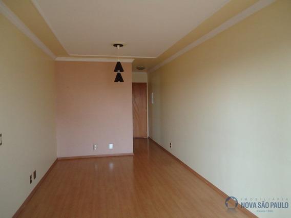 Excelente Apartamento Com Duas Vagas Cobertas, Muitos Armários Nos Dormitórios E Cozinha. - Di3259