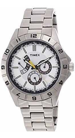 Relogio Timex T2n518 Metal Novo Original