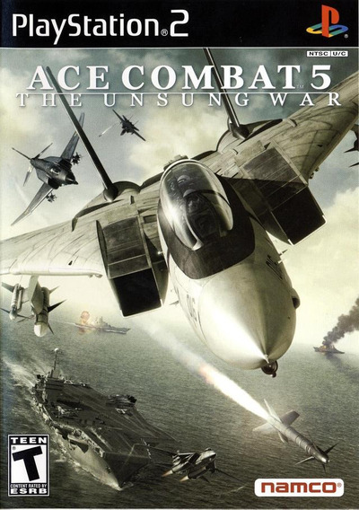 Ace Combat 5 The Unsung War Jogo Para Ps2 !!!!!!
