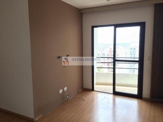 Vila Augusta Ótimo Apartamento Locação 3 Dormitórios, 2 Vagas. - Ap1471