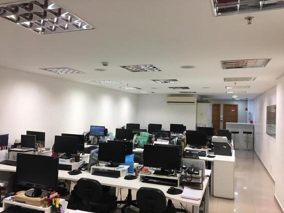 Sala Em Centro, Santos/sp De 94m² À Venda Por R$ 645.000,00 - Sa362514