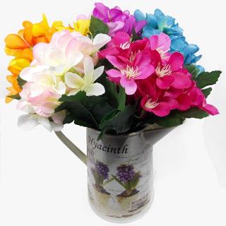 Flores Artificiales Cosmos 3 Ramos (75 Flores) Con Envio