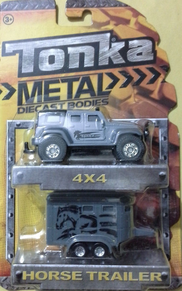 Tonka 4x4 Horse Trailer Metal Diecast Bodies (10)