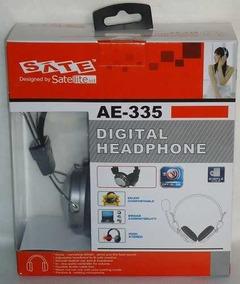 Head Fone Digital Gamer Com Microfone Satelite Frete Grátis