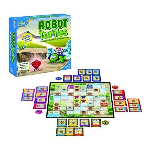 Thinkfun Robot Turtles Stem Juego De Tablero De Juguete Y Co
