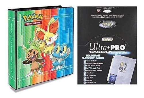 Imagen 1 de 1 de Ultra Pro Carpeta Organiza Cartas Pokémon Porta Tarjetas