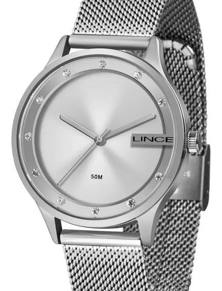 Relógio Lince Feminino Prata Lrm4623l S1sx