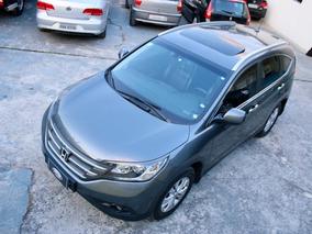 Honda Crv Exl Top 2013 Flex Com Teto Troco
