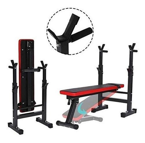 Imagen 1 de 6 de Máquina Press De Banca Bench Press Weight Bed Pesas Gym