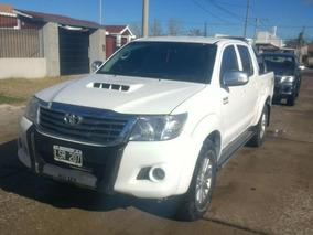 Toyota Hilux 3.0 D4-d Dc 4x4 Tdi Srv Cuero Ab L/12 2012