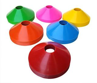 Cones De Agilidade Kit 20un Esporte Treinamento Funcional