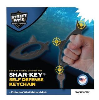 Llavero De Defensa Personal Shark Tiburon Streetwise